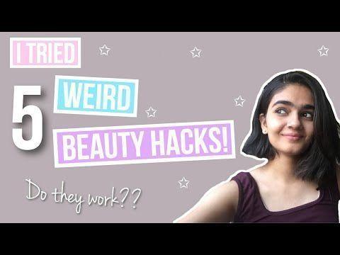 The Truth Behind Weird Beauty Hacks  Do They Work  YouTube