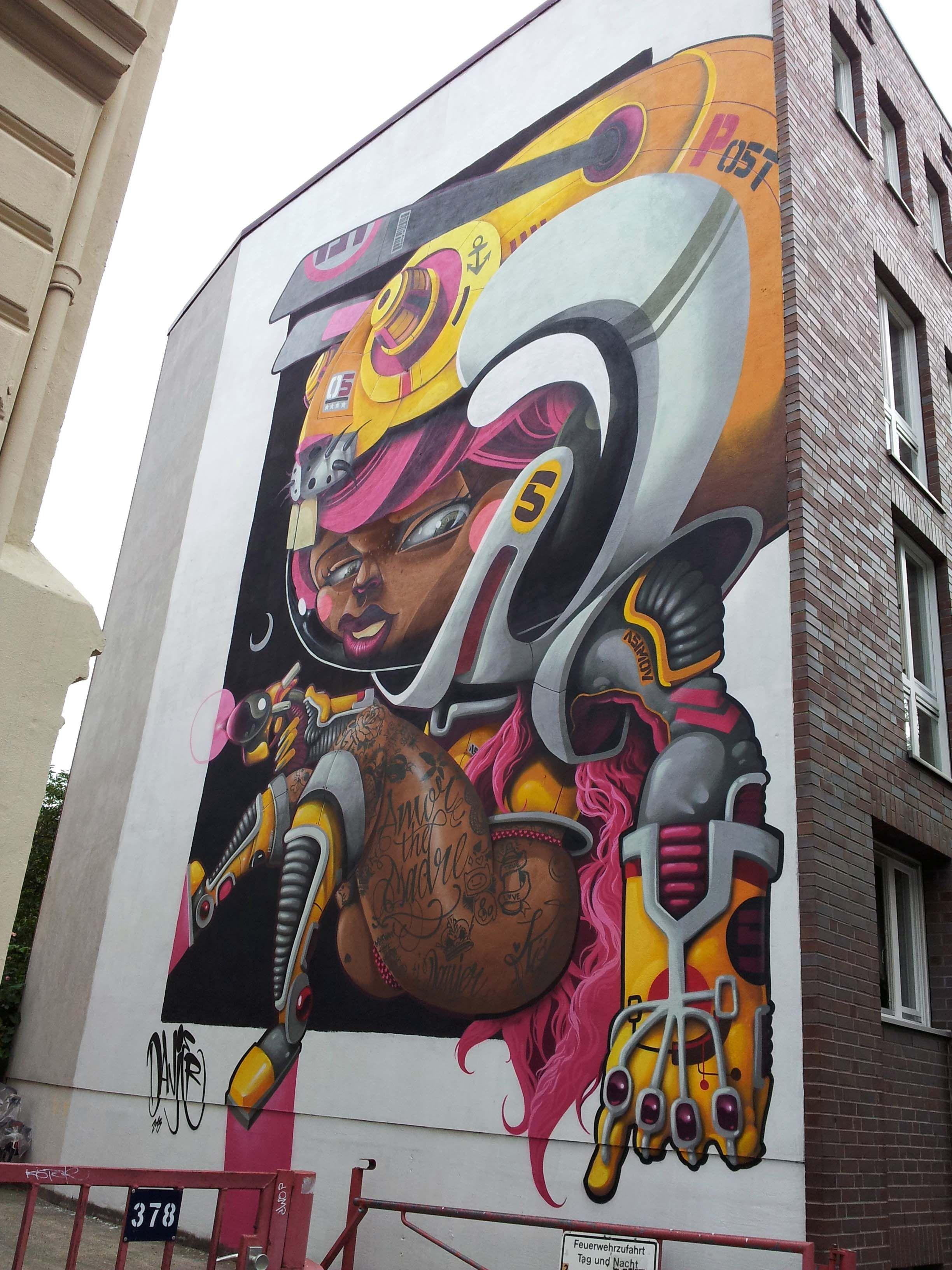 Künstler Köln cityleaks festival 2013 in köln neusser straße 374 vollendetes