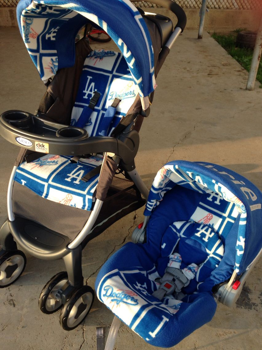 La Dodgers Custom Car Seat And Stroller Tiffany Pryor