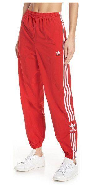 adidas Originals Lock Up Track Pants | Röd | Träningsbyxor