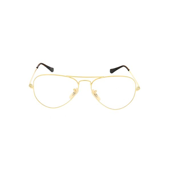 1d01418ce00 Ray-Ban RX6489 Gold 2500 - Unisex Prescription Eyeglasses for men and  women