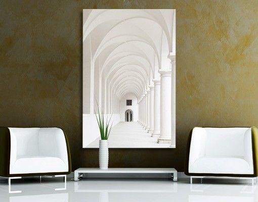 Leinwandbild #Arkaden #skandinavisch #schlicht #dekorativ #stilvoll - einrichtung stil pop art