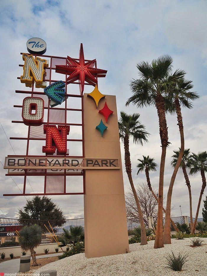 Things to do in Las Vegas. the Boneyard Park - Neon Museum