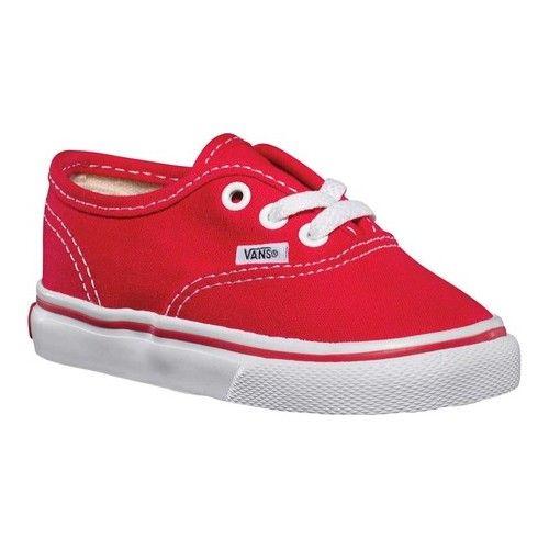 InfantsToddlers Vans Authentic Red Sneakers Småbarn  Toddler