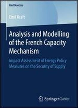 Analysis And Modelling Of The French Capacity Mechanism Impact
