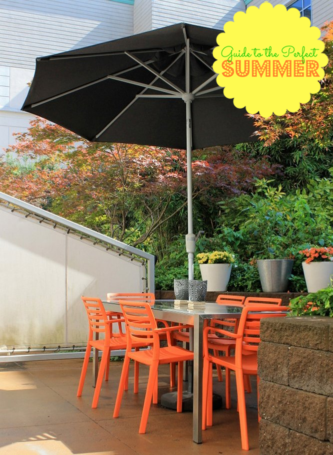 shade outdoor space