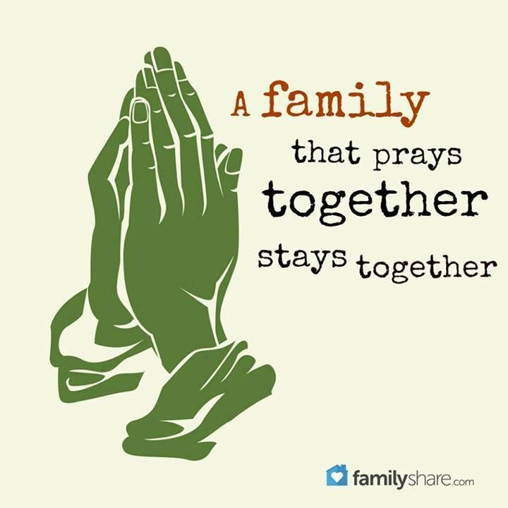 A Family That Prays Together Stays Together A Christians Journey