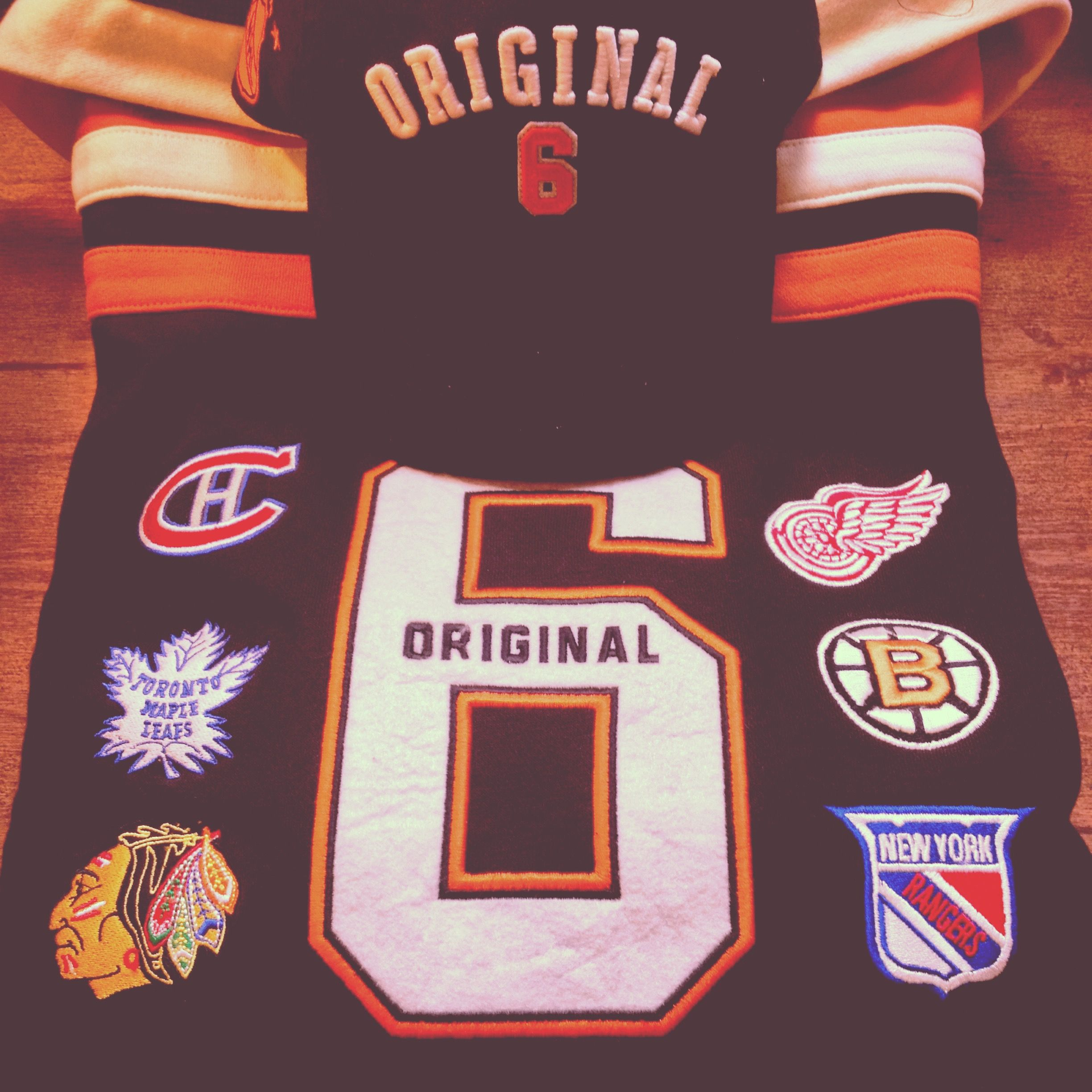 b3ae9087d15 Our collection of Original 6 apparel keeps growing and growing... Thanks to  Old Time Hockey. We're ready. Let's do this
