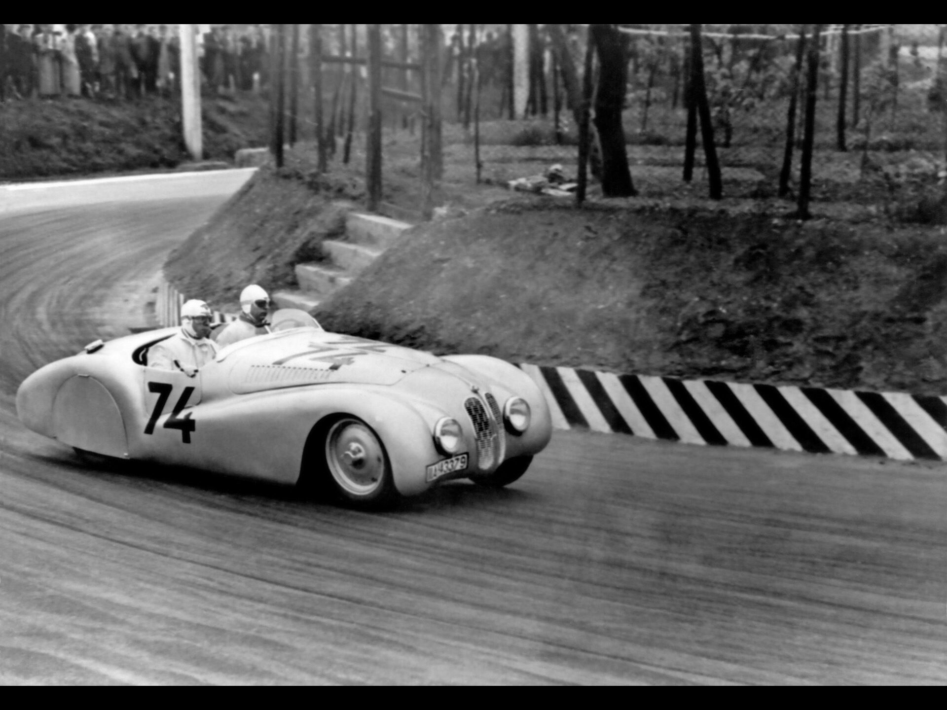 1940 BMW 328 at Mille Miglia - Roadster -