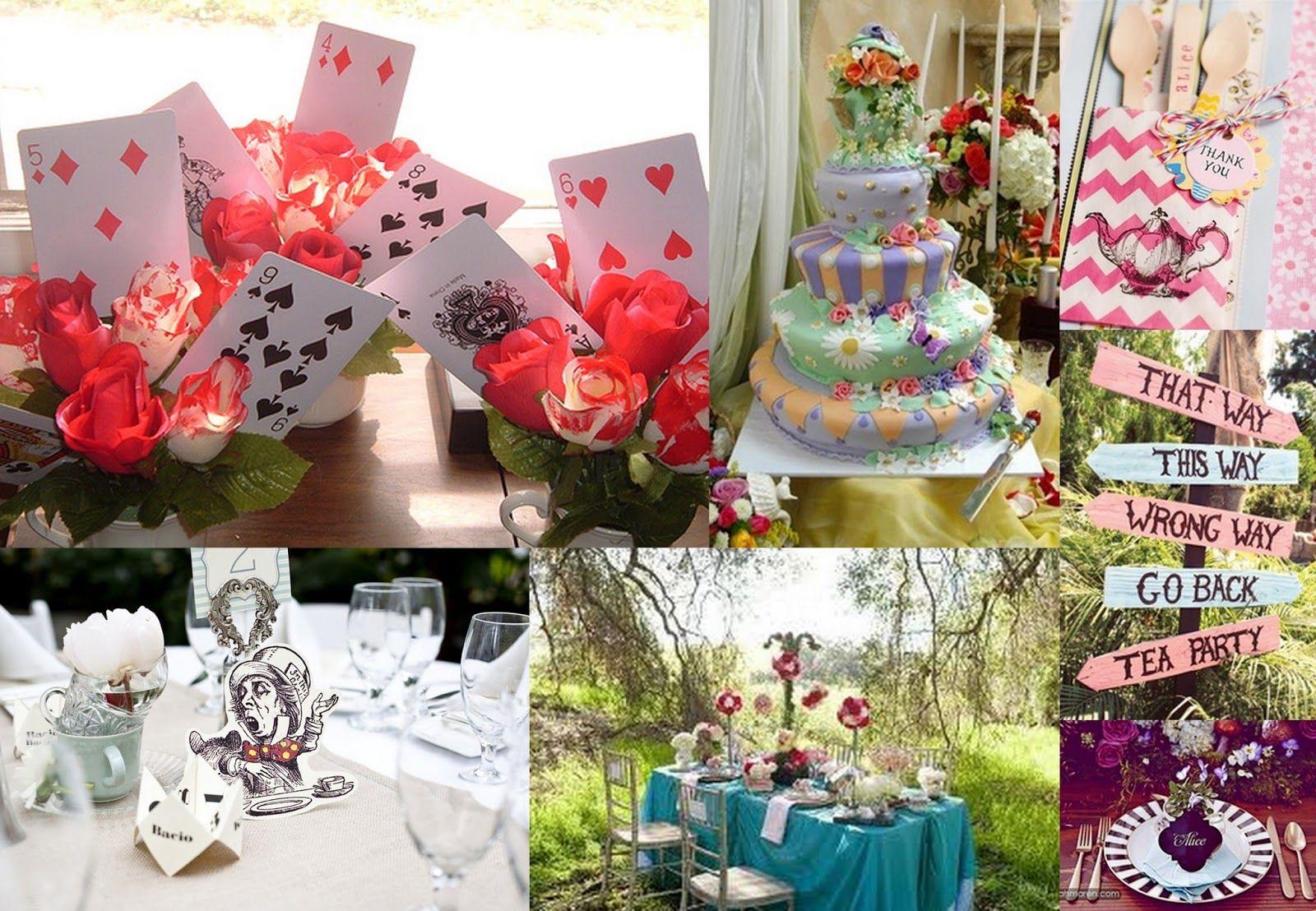 Alice in Wonderland Wedding - Wacky or Wonderful? | Maybe Someday ...