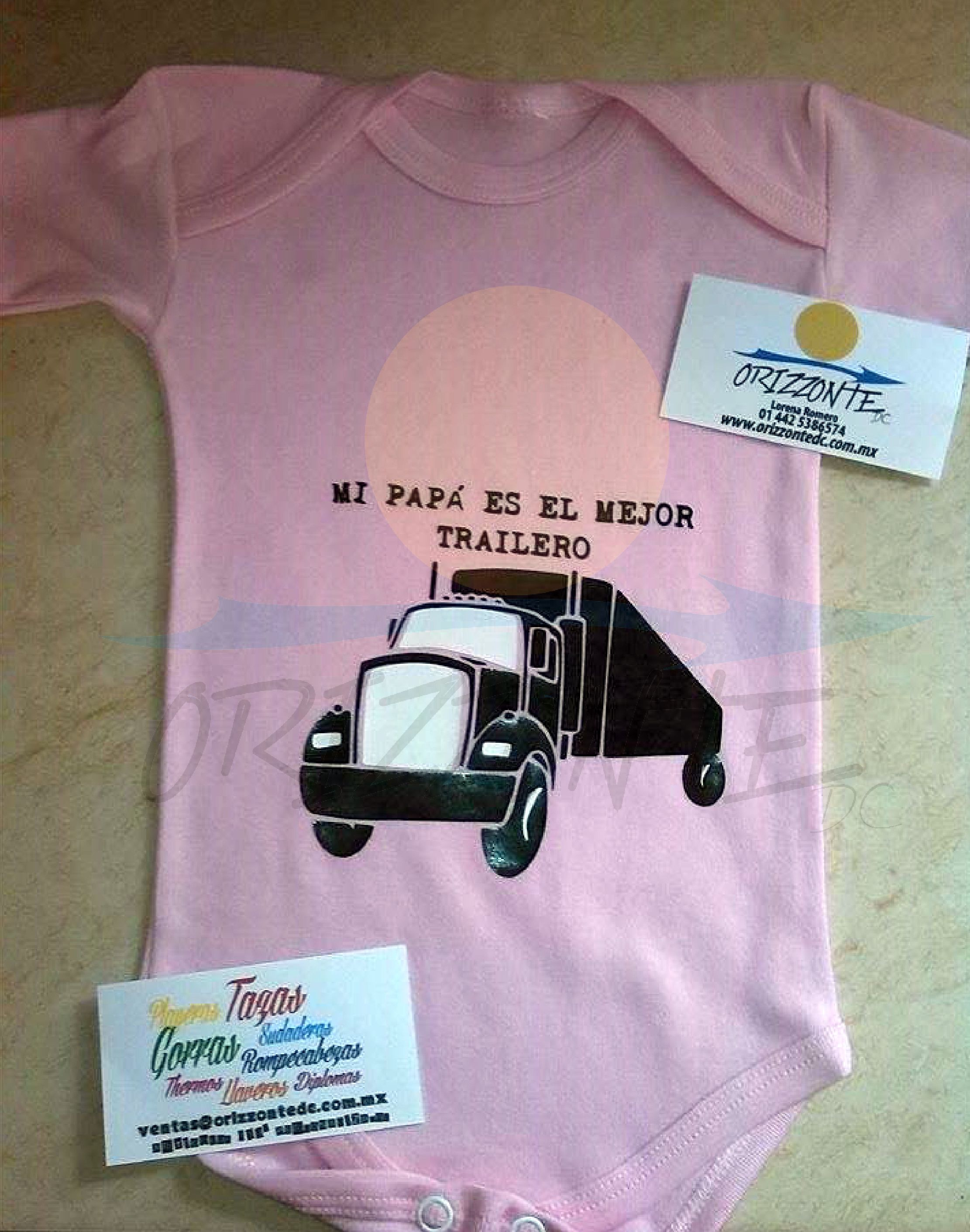 trailer trailero disponible en gorra playera o pañalero Disponible 3217e90c463