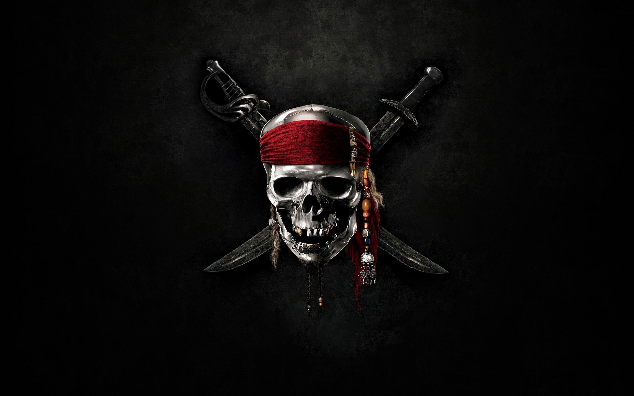 Pirate Skull Wallpaper Pirates Of The Caribbean Hd Skull Wallpapers