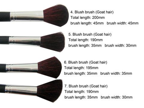 makeup brushes set and their uses. brushes for makeup and their uses - google search set b