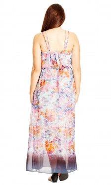 Women's Plus Size Shay Maxi Dress - Smoke | City Chic USA