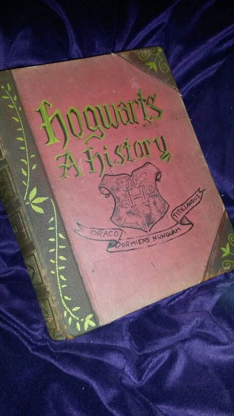Harry Potter school book!!  Hogwarts: a history book by PixieDustBooks  http://etsy.me/1WF9pKQ