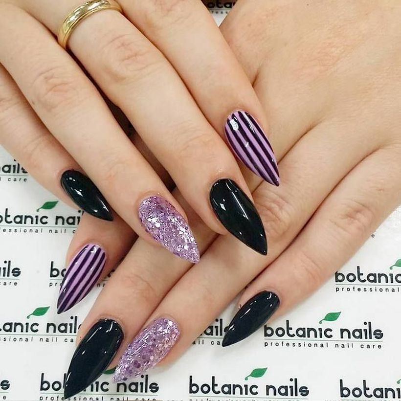 56 Cool Halloween Nail Art Ideas To Copy Now in 2020 (With ...
