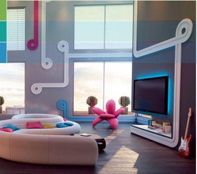 hi tech interior design - google search | станция | pinterest
