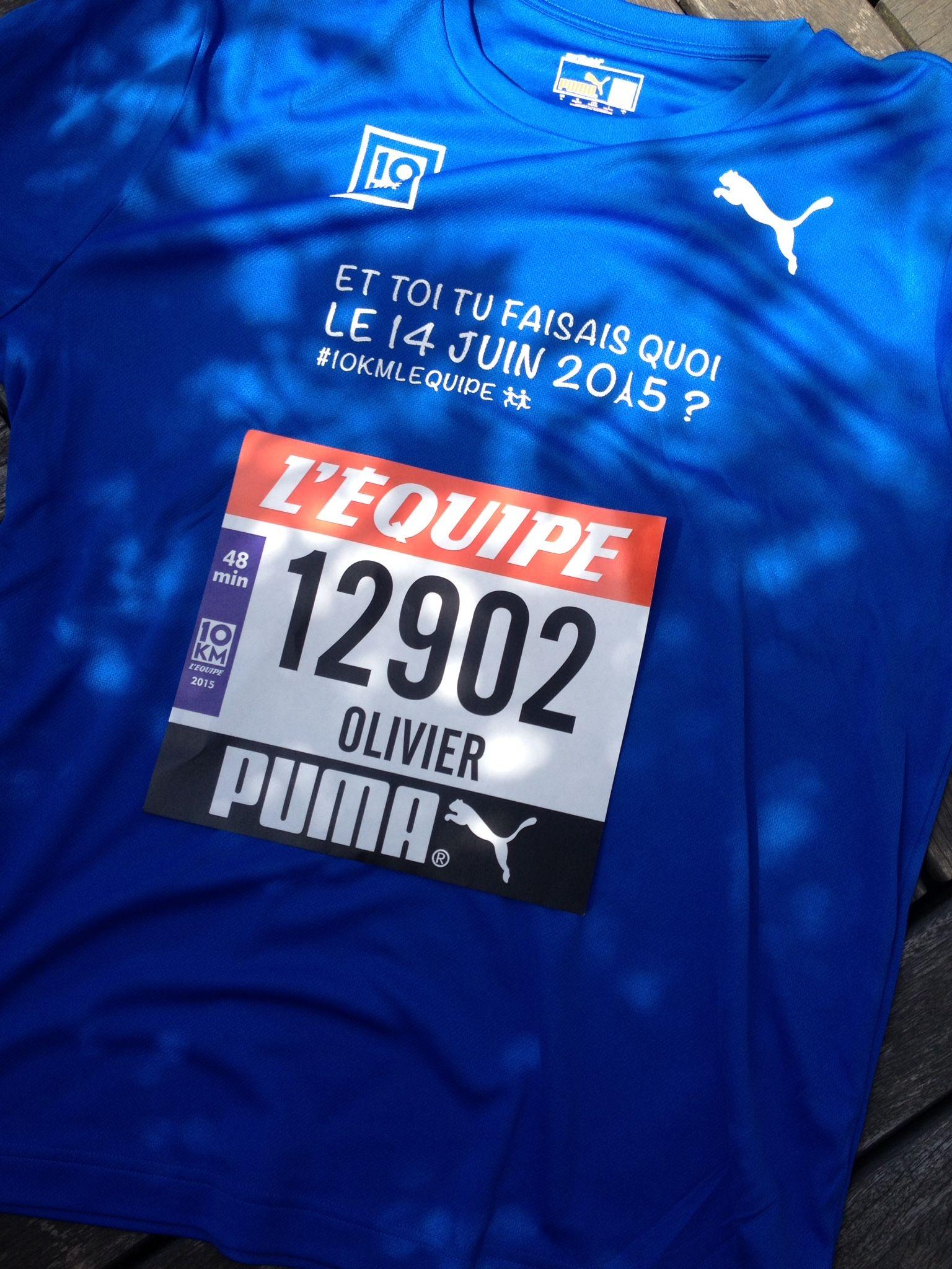 10 kms L'EQUIPE - Paris