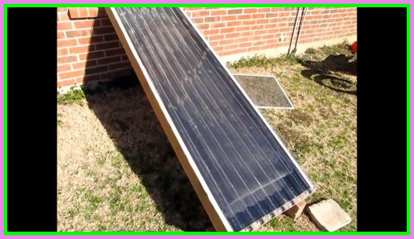 Building A Parabolic Solar Hot Water Heater Using 123d In 2020 Solar Hot Water Heater Solar Hot Water Water Heater