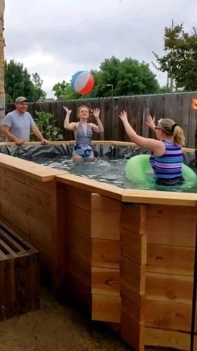 DIY Backyard Swimming Pool