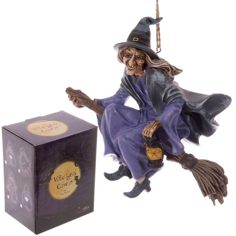 Besen Aufhängen hexe auf besen zum aufhängen witches coven