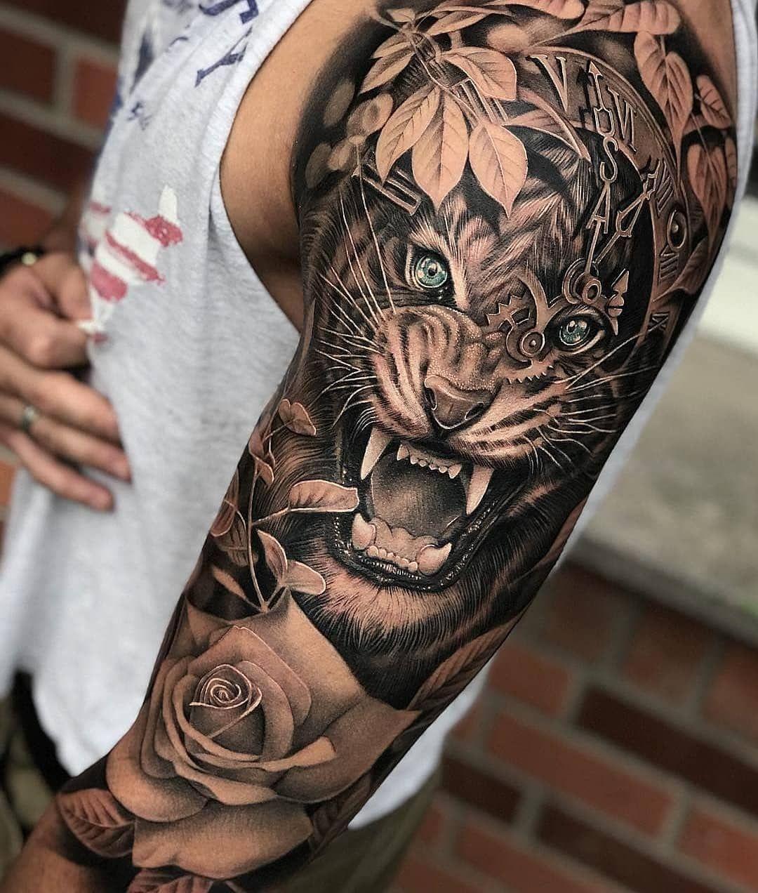 120 Tatuagens masculinas no braço (2018)   Stuff   Tattoos ...