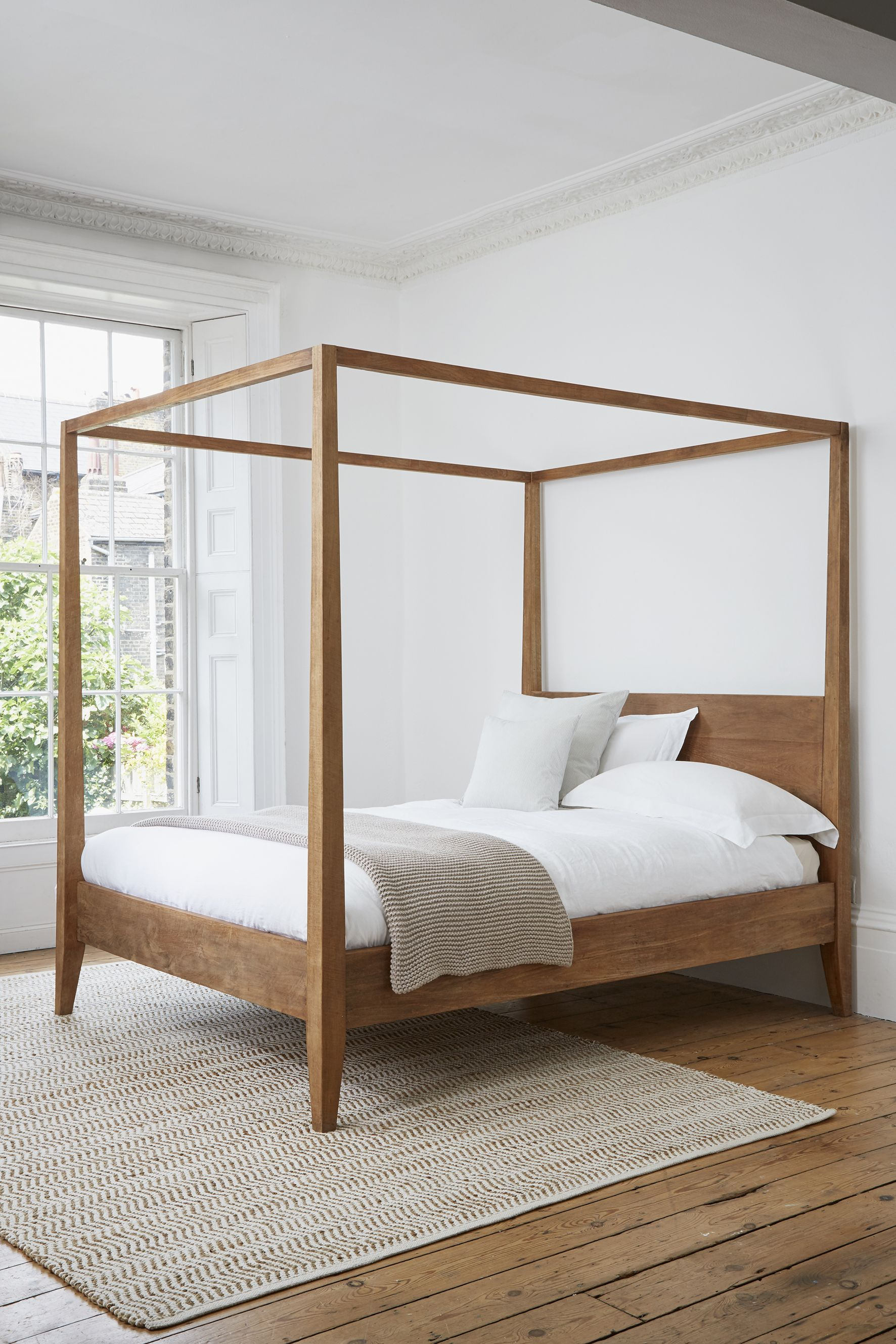Sumatra Four Poster Bed Canopy Bed Frame Poster Bed Canopy 4 Poster Bed Canopy