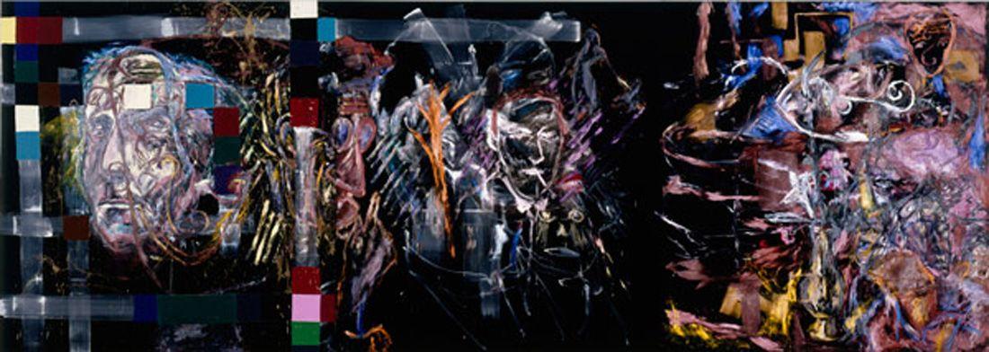 Julian Schnabel » Velvet Paintings (Figurative)