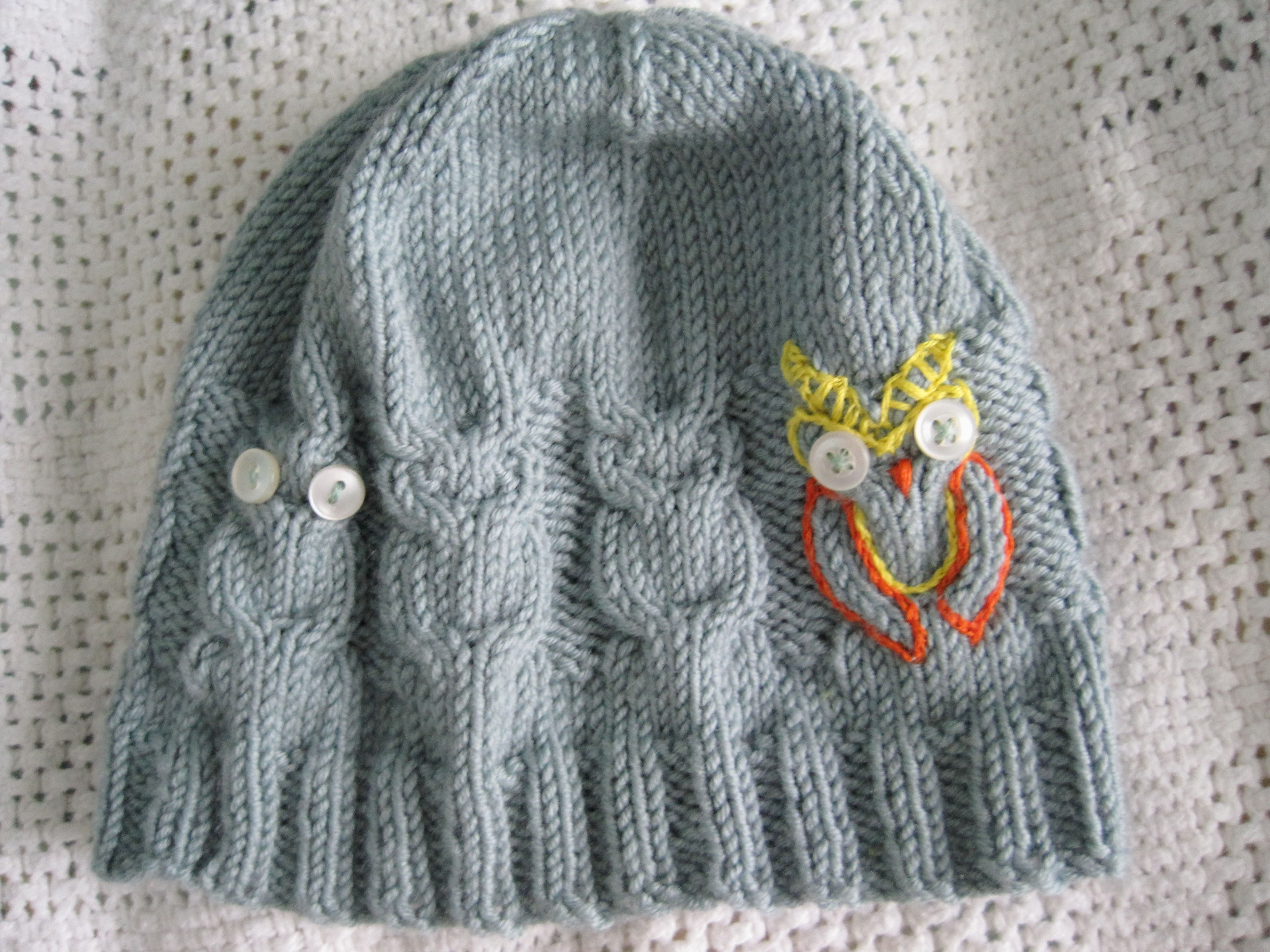 Gift knits owl hat owl and fishbowl gift knits owl patternssweater bankloansurffo Image collections
