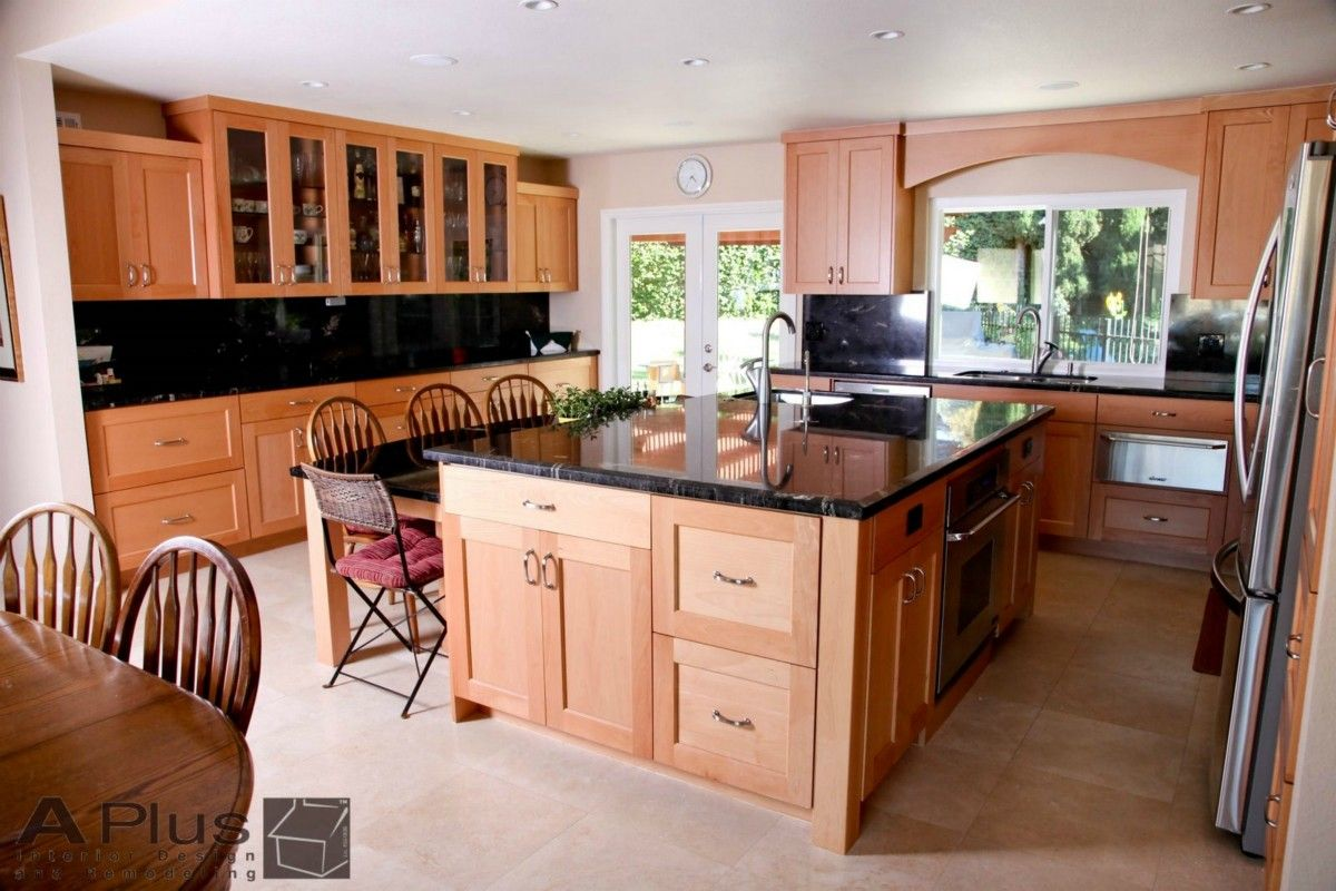 orange county kitchen remodeling : Kitchen Pictures, all wood ...