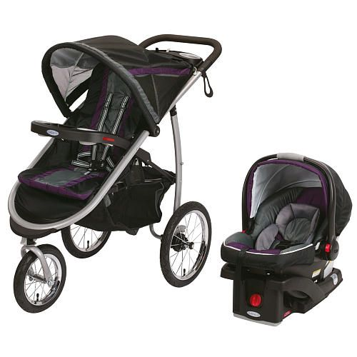 Graco Fastaction Fold Click Connect Jogger Travel System Stroller Stella Graco Babies R Us Stroller Baby Strollers Graco Stroller