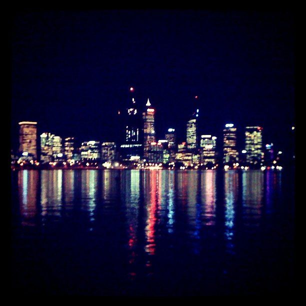 Perth at night. #instagram #instacanvas