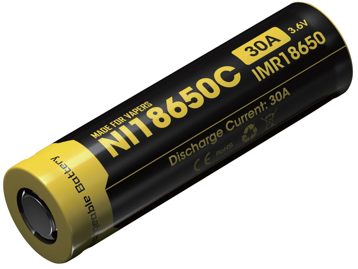 Nitecore Imr 3100mah 35a Imr 18650 Batteries Are High Drain Rechargeable Batteries Specially Designed For Vaping Devices And Co Smoke Shops Vape Vaping Devices