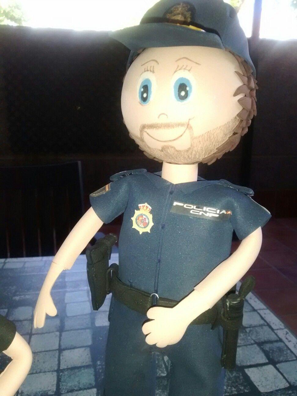 Fofucho Policía Nacional.