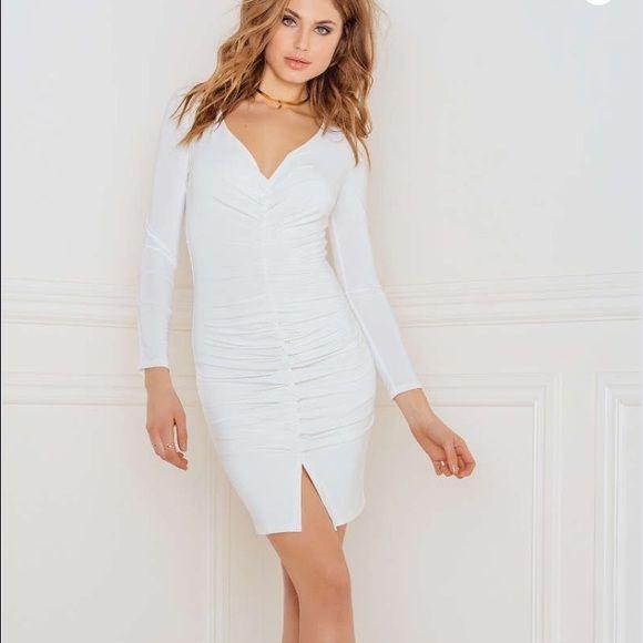 rebecca stella white dress