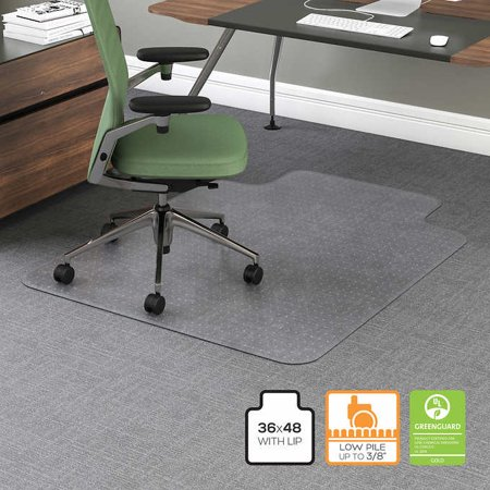Premium Pvc Clear Chair Mat For Carpet Floor Protector For Office