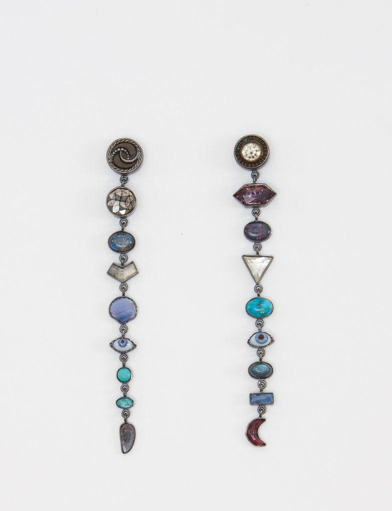 31ac2e24e Multi Drops X Nine Earrings - GRAINNE MORTON | Jewelry | Earrings ...