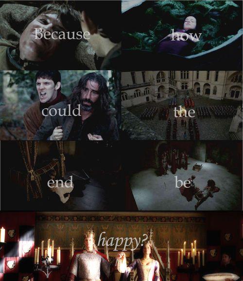 Not Happy Ending #Merlin