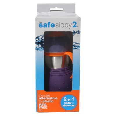 Kid Basix 1pk Safe Sippy Toddler Cup - Purple