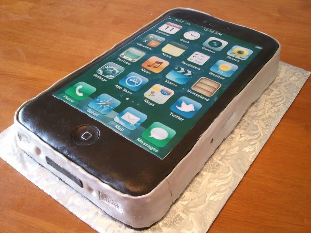 IPhone cake Cakes Pinterest Iphone cake Cake and Amazing cakes