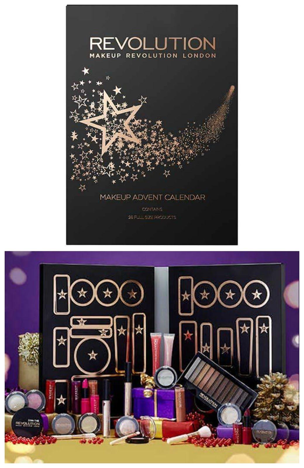 Makeup Revolution Advent Calendar // Calendar Countdown