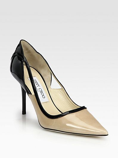 aac005ecf75 Jimmy Choo - Visor Patent Leather Pumps - Saks.com I almost had these in my  closet...they may make it there before the month is over