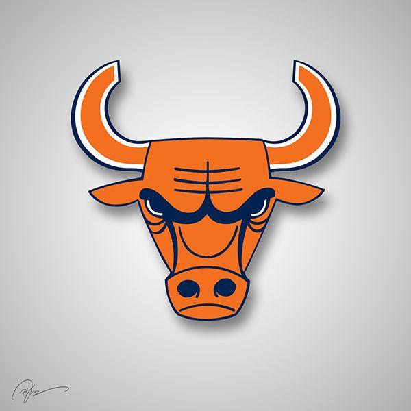 Image result for chicago bears bull
