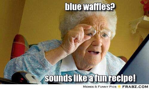 recipe: blue waffles meme [28]