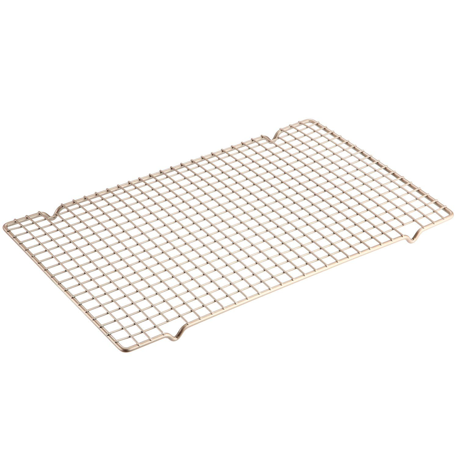 Chefmade Baking And Cooling Rack 16 Inch Non Stick Bold Grid