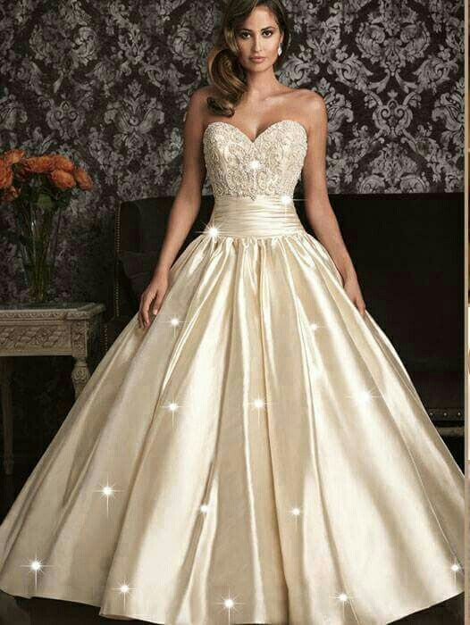 Pin by Fer on vedtidos de champaña | Pinterest | Wedding dress and ...