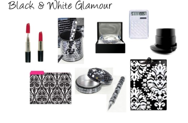 Black White Glamour The Office Stylist