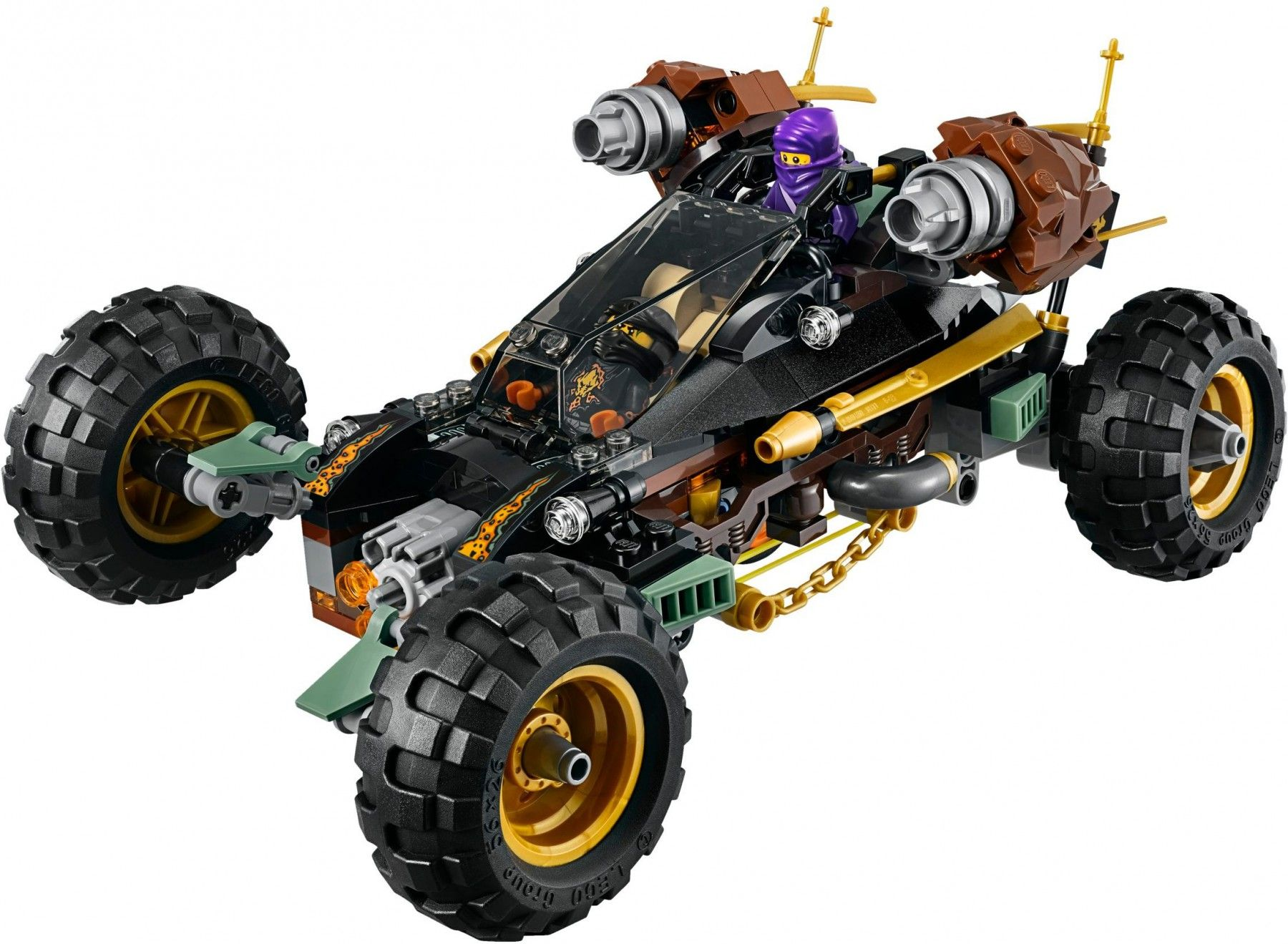 lego ninjago 70589 cole 39 s rock roader auto lego ninjago. Black Bedroom Furniture Sets. Home Design Ideas