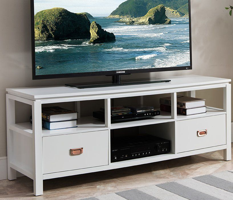 Bordonaro Solid Wood Tv Stand For Tvs Up To 60 With Images Tv Stand Solid Wood Tv Stand Modern Tv Stand