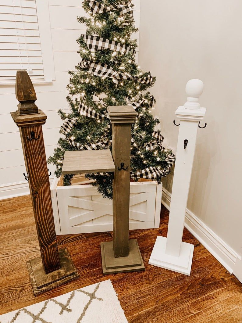 Stocking Holder Stand Post Perfect To Hang Your Stockings